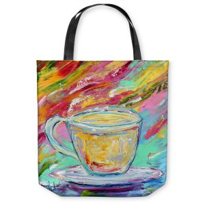 Unique Shoulder Bag Tote Bags | Karen Tarlton - Camomille Tea
