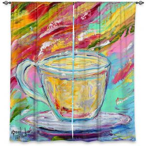 Decorative Window Treatments | Karen Tarlton - Camomille Tea