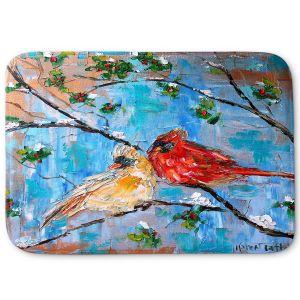 Decorative Bathroom Mats | Karen Tarlton - Cardinals 2 | Wild Birds