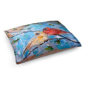 Decorative Dog Pet Beds | Karen Tarlton - Cardinals 2 | Wild Birds