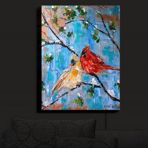 Nightlight Sconce Canvas Light | KarenTarlton - Cardinals 2 | Wild Birds