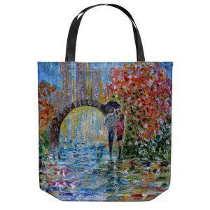 Unique Shoulder Bag Tote Bags   Karen Tarlton - Central Park Autumn   New York City Park