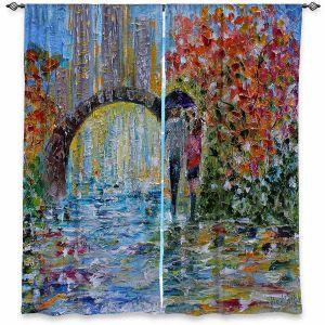 Decorative Window Treatments | Karen Tarlton - Central Park Autumn | New York City Park