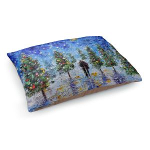 Decorative Dog Pet Beds | Karen Tarlton - Christmas Romance | Christmas Tree Lights