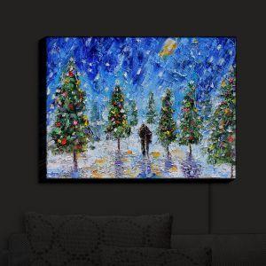 Nightlight Sconce Canvas Light | KarenTarlton - Christmas Romance | Christmas Tree Lights