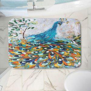 Decorative Bathroom Mats | Karen Tarlton - Fabulous Peacock