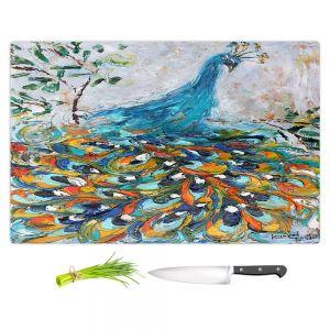 Artistic Kitchen Bar Cutting Boards | Karen Tarlton - Fabulous Peacock