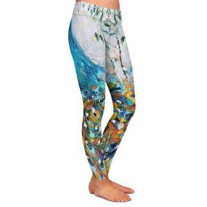 Casual Comfortable Leggings | Karen Tarlton - Fabulous Peacock