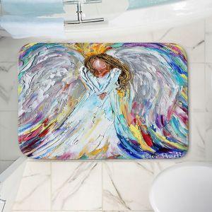 Decorative Bathroom Mats | Karen Tarlton - Guardian Angel 1 | Spiritual People