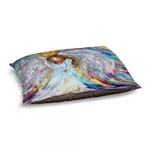 Decorative Dog Pet Beds   Karen Tarlton - Guardian Angel 1   Spiritual People