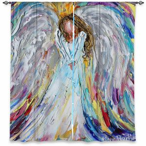 Decorative Window Treatments | Karen Tarlton - Guardian Angel 1 | Spiritual People