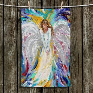 Unique Hanging Tea Towels | Karen Tarlton - Guardian Angel 2 | Spiritual People