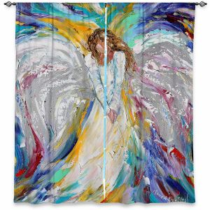 Decorative Window Treatments | Karen Tarlton - Guardian Angel 2 | Spiritual People