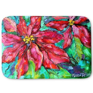 Decorative Bathroom Mats | Karen Tarlton - Holiday Poinsettia | Christmas Flower