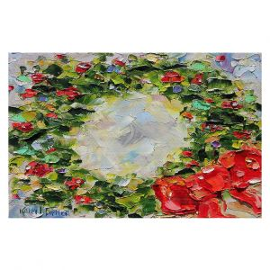 Decorative Floor Covering Mats   Karen Tarlton - Holiday Wreath   Christmas Wreath