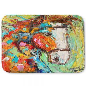 Decorative Bathroom Mats | Karen Tarlton - Horse Portrait ll