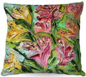 Decorative Outdoor Patio Pillow Cushion   Karen Tarlton - Lilly Flowers