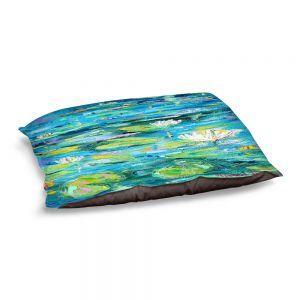 Decorative Dog Pet Beds   Karen Tarlton - Lily Pond   Nature Water Lily