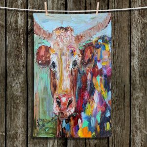 Unique Bathroom Towels | Karen Tarlton - Longhorn