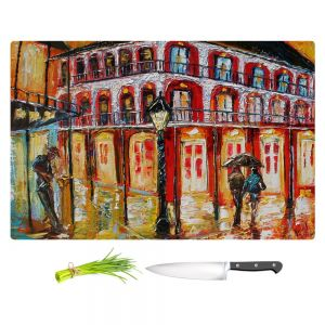 Artistic Kitchen Bar Cutting Boards | Karen Tarlton - New Orleans French Quarter