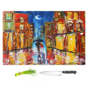 Artistic Kitchen Bar Cutting Boards | Karen Tarlton - New Orleans Rain