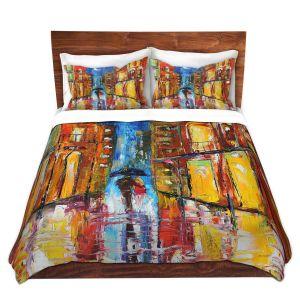 Artistic Duvet Covers and Shams Bedding | Karen Tarlton - New Orleans Rain
