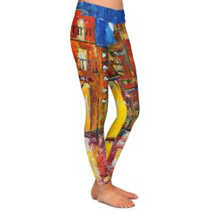 Casual Comfortable Leggings | Karen Tarlton - New Orleans Rain