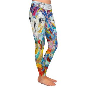 Casual Comfortable Leggings | Karen Tarlton - Owl Whimsy