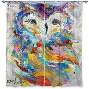 Decorative Window Treatments | Karen Tarlton - Owl Whimsy