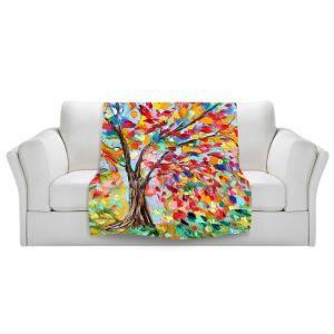 Artistic Sherpa Pile Blankets   Karen Tarlton Poetry of a Tree