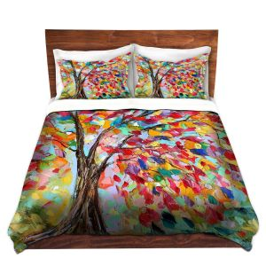 Artistic Duvet Covers and Shams Bedding | Karen Tarlton - Poetry of a Tree