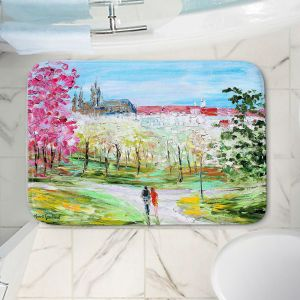 Decorative Bathroom Mats | Karen Tarlton - Prague Castle