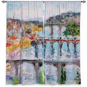Decorative Window Treatments | Karen Tarlton - Prague Sunrise