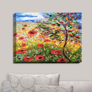 Decorative Canvas Wall Art | Karen Tarlton - Provence Poppies