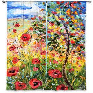 Decorative Window Treatments | Karen Tarlton Provence Poppies