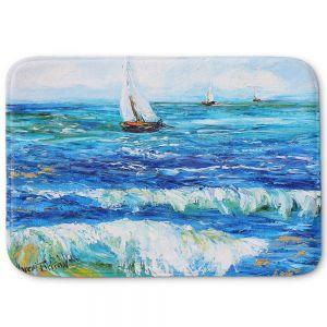 Decorative Bathroom Mats | Karen Tarlton - Sailing Sailboats I
