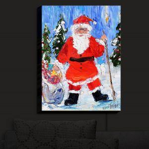 Nightlight Sconce Canvas Light | KarenTarlton - Santa 1 | Santa Claus Christmas