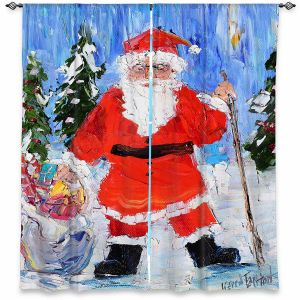 Decorative Window Treatments   Karen Tarlton - Santa 1   Santa Claus Christmas