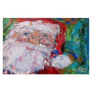 Decorative Floor Covering Mats | Karen Tarlton - Santa 2 | Santa Claus Christmas