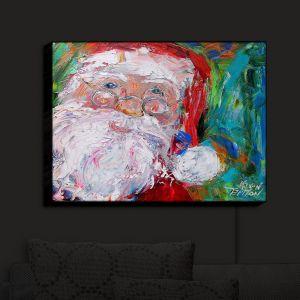 Nightlight Sconce Canvas Light | KarenTarlton - Santa 2 | Santa Claus Christmas