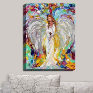 Decorative Canvas Wall Art | Karen Tarlton - Spring Angel