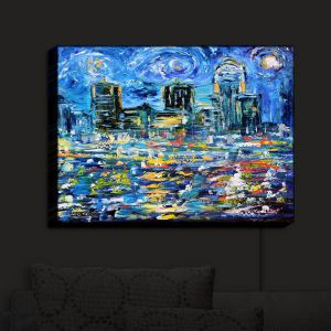 Nightlight Sconce Canvas Light | Karen Tarlton's Starry Night