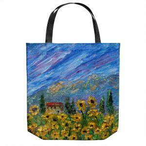 Unique Shoulder Bag Tote Bags | Karen Tarlton - Sunflower Dreams | Nature Flowers Farms
