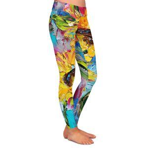 Casual Comfortable Leggings | Karen Tarlton - Sunflower Joy