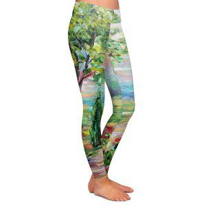 Casual Comfortable Leggings | Karen Tarlton Tuscany Radiance