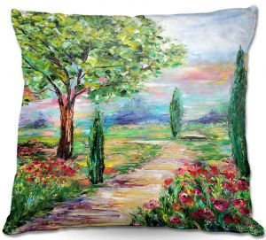 Throw Pillows Decorative Artistic   Karen Tarlton's Tuscany Radiance