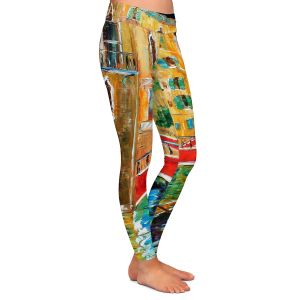 Casual Comfortable Leggings | Karen Tarlton Venice Feb 1 2011
