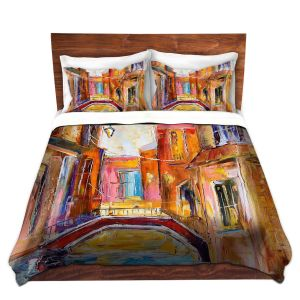 Artistic Duvet Covers and Shams Bedding | Karen Tarlton - Venice Magic I
