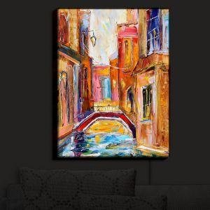 Nightlight Sconce Canvas Light | Karen Tarlton's Venice Magic I