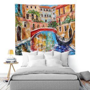 Artistic Wall Tapestry | Karen Tarlton Venice Magic II